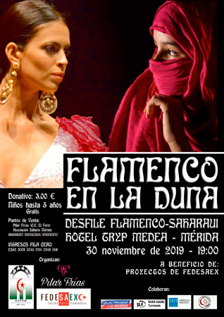 """""""Flamenco en la Duna"""" desfile solidario en Extremadura – CEAS-Sahara"""