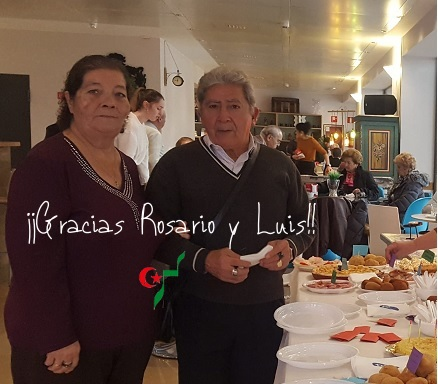 Um Draiga celebró su tapeo solidario con homenaje a Rosario y Luis – CEAS-Sahara