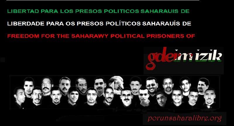 Presos políticos saharauis del grupo Gdeim Izik sufren un continuo trato inhumano | POR UN SAHARA LIBRE .org