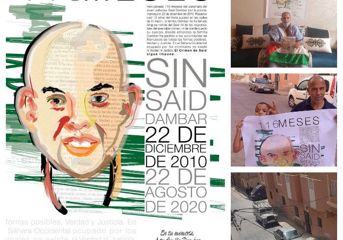 Marruecos sigue encubriendo el asesinato de joven saharaui | POR UN SAHARA LIBRE .org