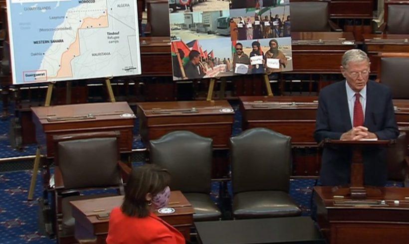 Inhofe, senador estadounidense, habla en el plenario del Senado sobre el Sáhara Occidental | POR UN SAHARA LIBRE .org