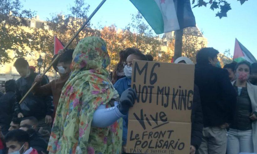 Manifestación en París por la autodeterminación del pueblo saharaui | POR UN SAHARA LIBRE .org