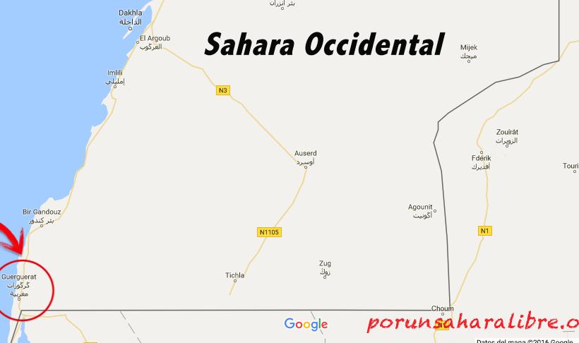 Polisario bombardea brecha ilegal en el Guergarat, la guerra se intensifica, Marruecos guarda silencio | POR UN SAHARA LIBRE .org