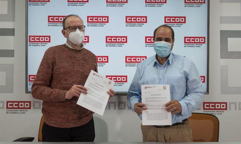 CCOOCyL renueva convenio con la Delegación Saharaui para facilitar el acogimiento de menores y la recogida de alimentos