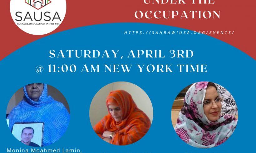 Conferencia Mujeres Saharauis bajo Ocupación | POR UN SAHARA LIBRE .org