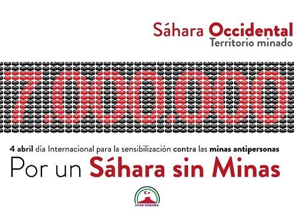 Día Internacional de información sobre el peligro de las minas – CEAS-Sahara
