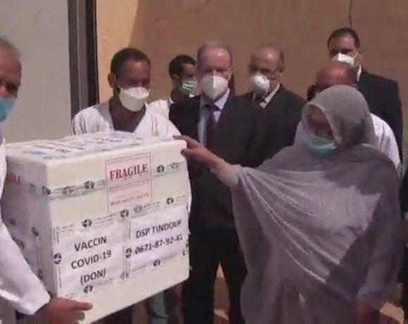 Llegan las primeras vacunas contra el coronavirus a los campamentos de refugiados saharauis de Tinduf